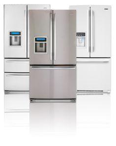 i like the double door fridge with freezer in the bottom.