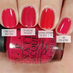 OPI Madam President | Washington D.C. Collection Comparisons | Peachy Polish
