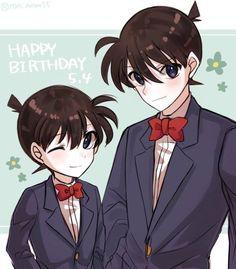 Shinichi and Conan