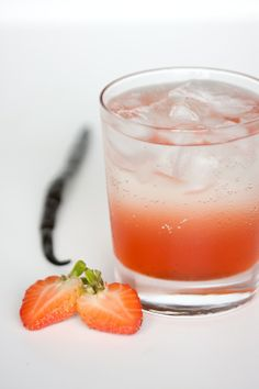 Strawberries and Cream Soda--sounds refreshing (will have to put it on my list for next summer to try)
