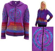 Rainbow+Spiral+Jacket+at+The+Animal+Rescue+Site