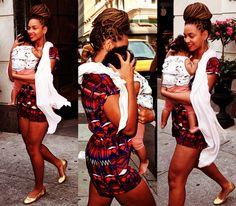 Beyonce  Blue Ivy  Box braids