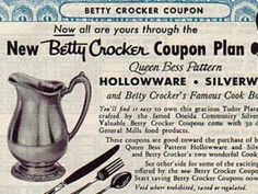 Old Betty Crocker Coupon