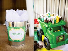 john deere party packages | Creative John Deere Themed Party {Boys Birthday} // Hostess with the ...