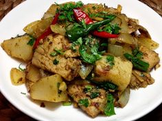 Goan Pork Roast Chilli Fry Goan Recipes, Pork Roast Recipes, Veg Recipes, Indian Food Recipes, Chicken Recipes, Cooking Recipes, Snack Recipes, Pork Meat, Kitchens