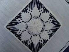 needle lace, found on Blue Sydonie - Embroidery Patterns Free, Embroidery Needles, Hand Embroidery Designs, Tenerife, Drawn Thread, Crochet Motifs, Hardanger Embroidery, Point Lace, Needle Lace