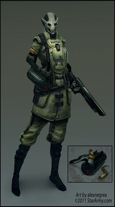 Star Army Solider Commission by alexnegrea.deviantart.com on @deviantART