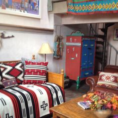 A space to inspire in Taos.  Inger Jirby casitas.  And you can stay here!