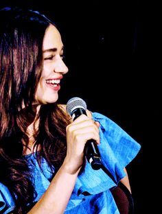 Crystal Reed attends the second day of the Howler Con in New Jersey - June 25th, 2016 (cc: sharmanlover )