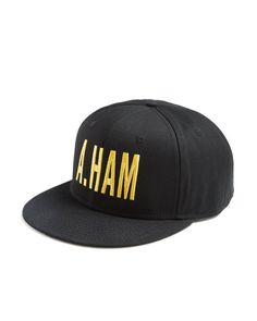 "Even if you haven't been lucky enough to score tickets to the Broadway musical ""Hamilton"" you can still get a piece of the action with this cool ""A. Ham"" baseball cap from Creative Goods. 