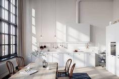 Beautiful 3D kitchen