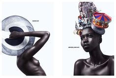 Reinventing the hat : How Philip Treacy has come to redefine the role of the millner. Featuring model NYKHOR PAUL