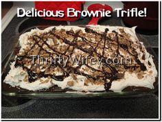 Delicious Brownie Trifle Dessert Recipe!