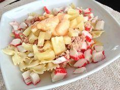 Receta de Ensalada tropical de pasta