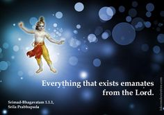 Everything That Exists  For full quote go to: http://quotes.iskcondesiretree.com/srimad-bhagavatam-on-everything-that-exists/  Subscribe to Hare Krishna Quotes: http://harekrishnaquotes.com/subscribe/  #SupremeLord