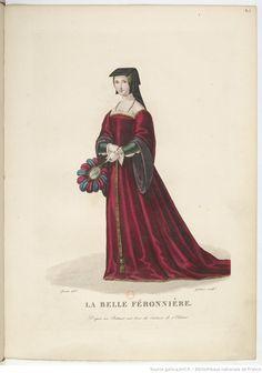 La belle ferronnière, maîtresse de François Ier