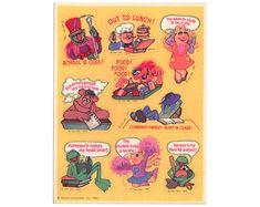 NEW Hallmark Stickeroni Phineas /& Ferb Scrapbook Card STICKERS Holographic Schoo