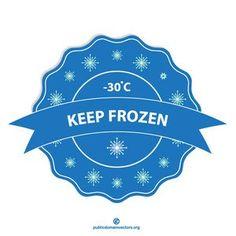 Keep frozen vector label