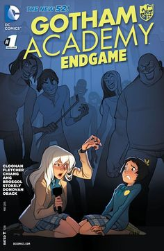 Gotham Academy: Endgame #1 Gotham City has been overrun by craziness, and the power is out at Gotham Academy! But don't worry. The kids are safely locked up, huddled around candles and flashlights and telling the Gotham City version of ghost stories: Joker stories! Meanwhile, a mysterious figure connected to the Academy's past is patrolling the grounds with a crossbow, but who is it?