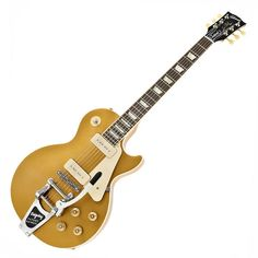 Gibson Ltd. Ed. Les Paul Traditional with P90s and Bigsby, Gold Top at Gear4Music.com
