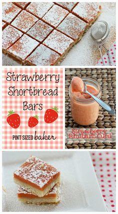Strawberry Shortbread Bars