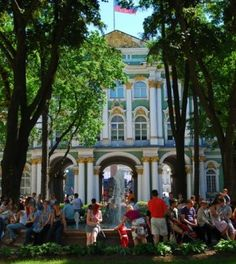 Winter Palace, home to Hermitage Museum