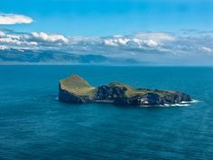 Ellidaey Island,  Iceland. I wish I could live here, at least for a few months a year...
