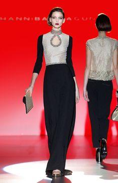 Hannibal Laguna Colección Otoño-Invierno 2016-2017 - Couture #HannibalLaguna #MBFWM