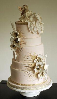 Fondant Pasteles de boda ♥ Wedding Cake Design