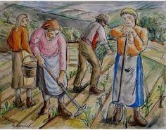 Dos maestros universales www.lavozdegalicia.es300 × 236Buscar por imagen Reproducciones de sendas obras tanto de Laxeiro (arriba) como Colmeiro (abajo) que se exponen. FRAU José PINTOR - Buscar con Google Painting, Art