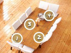 Jaké místo u stolu si vyberete?