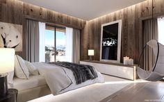 projet immobilier Megeve - construction de luxe-chalet sur piste- luxury chalet in Megeve-