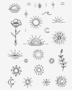 Discover recipes, home ideas, style inspiration and other ideas to try. Mini Tattoos, Boho Tattoos, Cute Tiny Tattoos, Dainty Tattoos, Symbolic Tattoos, Pretty Tattoos, Body Art Tattoos, Small Tattoos, Sleeve Tattoos