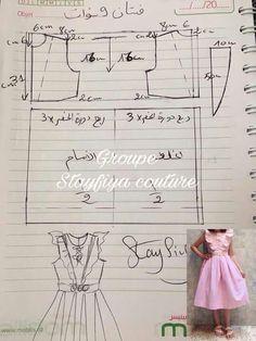 The Tiered Dress Tutorial. Kids Dress Patterns, Sewing Patterns For Kids, Clothing Patterns, Girls Dresses Sewing, Sewing Baby Clothes, Dress Sewing, Baby Girl Party Dresses, Baby Dress, Dress Anak