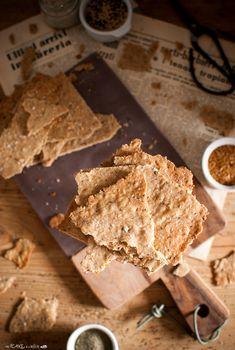 Wholemeal seed crackers - Cracker integrali ai semi