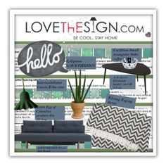 """LOVEThESIGN.com - Home Decor"" by cindy88 ❤ liked on Polyvore featuring interior, interiors, interior design, hogar, home decor, interior decorating, Lilipinso, Elvang, Internoitaliano y Alessi"