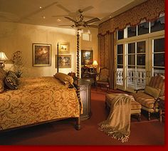 If you are having difficulty making a decision about a home decorating theme, tuscan style is a great home decorating idea. Many homeowners are attracted to the tuscan style because it combines sub… Mediterranean Bedroom, Mediterranean Homes, Tuscan Bedroom Decor, Bedroom Ideas, Tuscan Furniture, Tuscany Decor, World Decor, Tuscan House, Tuscan Decorating