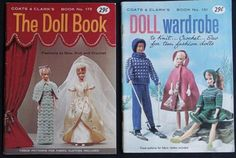 Coats-Clarks-Fashion-Doll-Wardrobe-151-The-Doll-Book-173-Knit-Sew