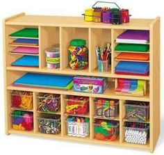 Heavy-Duty Spacemaker Storage Unit at Lakeshore Learning Classroom Furniture, Kids Furniture, Classroom Decor, Traditional Chairs, Canvas Crafts, Cubbies, Room Organization, Fun Crafts, Baby Crafts