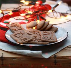 Chocolate Cookies, Biscotti, Gingerbread Cookies, Paleo, Healthy Recipes, Healthy Meals, Sweets, Sugar, Baking