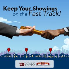 Hand us the baton and we'll put your showing activity on the fast track. Stop by booth #310 at the NAR Legislative Meetings & Trade Expo to learn how CSS can help you grow your business! www.showings.com/about
