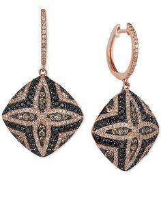 Le Vian Exotics® Diamond Drop Earrings (1-1/3 ct. t.w.) in 14k Rose Gold