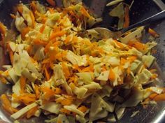Cabbage and Carrot Salsa