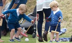 Prince George 'prefers using his left hand'... just like William