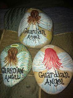 Guardian angel rocks