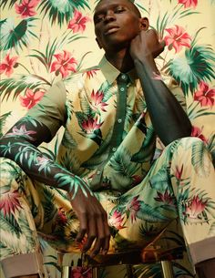 <p>Spring-like visions entrance in this Schön! Issue 30 editorial shot by photographer Ben Beagent. Stylist Carrie Weidner combines ethereal florals by Roberto Cavalli, Carven and Acne Studios, with t