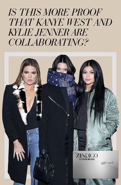 The youngest of the Kardashian klan, Kylie Jenner is jump-starting her music career with the help of brother-in-law, Kanye West. Get the look inspired by the duo using the code KYLIEMUS4 for $70 off a $200 purchase. Valid 2/5-2/15. #zindigo #zindigodaily #kyliej #kanyewest #yeezus