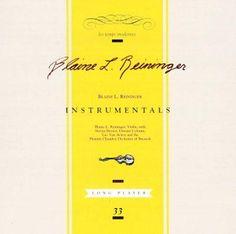 Blaine L. Reininger - Instrumentals