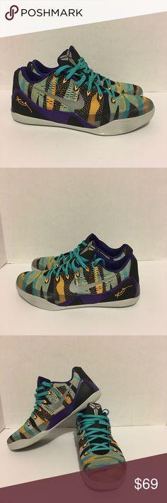new styles 0a1de 2f0f5 Nike Kobe 9 Ix Em Pop Art 646701-508 Nike Kobe 9 Ix Em Pop