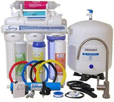 iSpring RCC7AK - Newly Upgraded US Legendary 75GPD 6-Stage Reverse Osmosis Water Filter System with Alkaline PH+ Mineral Stage and Brushed Nickel Faucet iSpring http://www.amazon.com/dp/B005LJ8EXU/ref=cm_sw_r_pi_dp_1OYqvb0NVK250